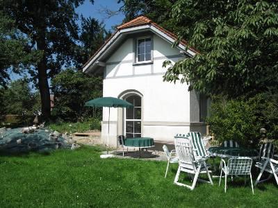 Ferienwohnung mit eigenem Badestrand am Schweizer Bodenseeufer
