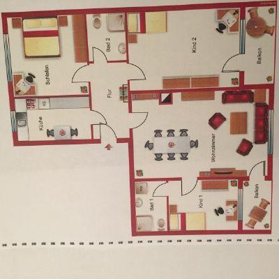 Luxuriös sanierte riesige 4-Zimmer-Wohnung in Puchheim