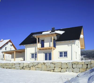satteldachhaus 102 m schl sselfertig ohne keller bodenplatte grundst ck 4906. Black Bedroom Furniture Sets. Home Design Ideas
