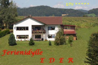 Ferienidylle Eder 5 Sterne - Bayerischer Wald/ Saldenburg - Nationalpark - komfortable Ausstattung- Spülmaschine - W-LAN-  ruhige Waldrandlage- Garten