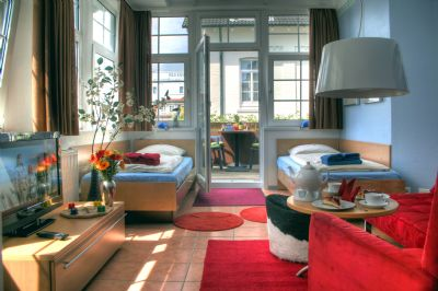 Neyland Apartments - Duckdalbe - Südbalkonapartment
