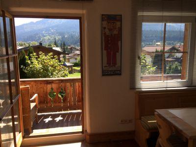 Österreich-Ellmau-Ferienapartment in Bestlage, absolut ruhig auf der Sonnseite, beste Aussichten auf die Tiroler Bergwelt!