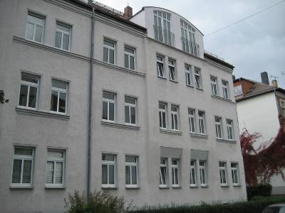 Alt-Paunsdorf, ruhige 2-Zimmer-Wohnung, groer Balkon, Einbaukche