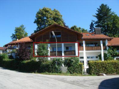 1 Zi Apartment mit Bergblick in Murnau