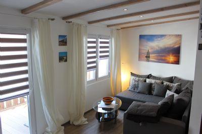 Menne Suite auf Borkum, Nordsee Ferienwohnung mit separatem Kinderzimmer. Weitere Wohnungen auf Anfraga